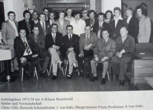 1974-Aufstiegsfeier